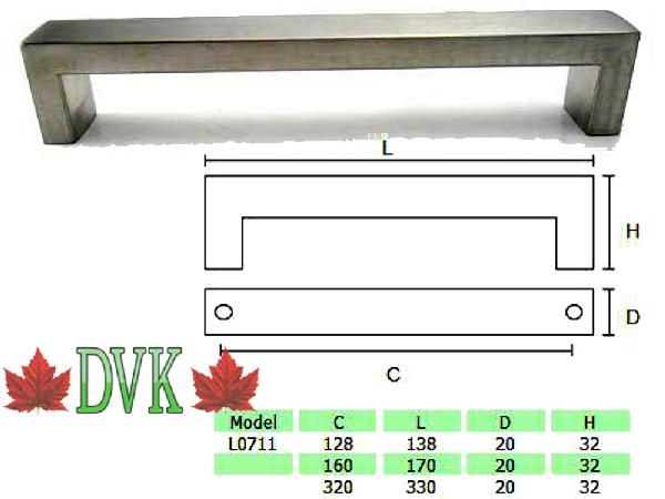 Discount Vancouver Kitchen (DVK) - L0711-128 - DVK Discount Price  = $5.00