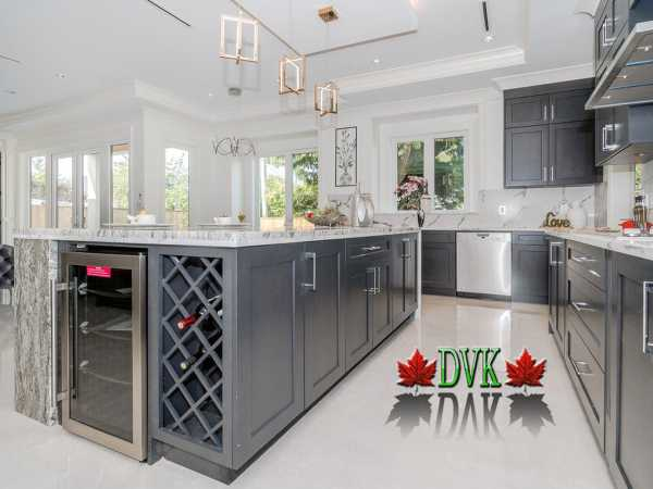 Kitchen Cabinets Vancouver kitchen cabinets vancouver | 15-shaker white maple - dvk discount
