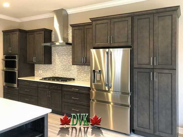 Kitchen Cabinets Vancouver 24 Sd Alston Grey Dvk Discount Price For 10 X10 Kitchen 2299 00