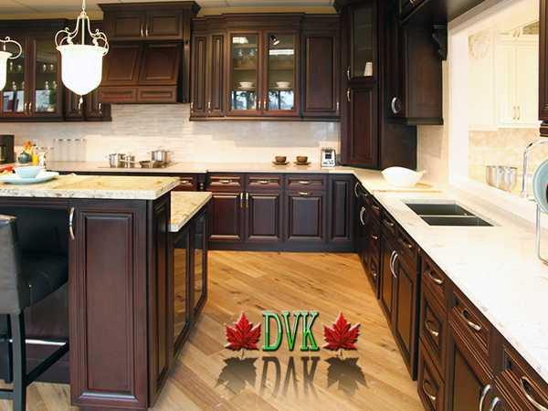Kitchen Cabinets Vancouver | 29-Natural White Maple Shaker - DVK ...
