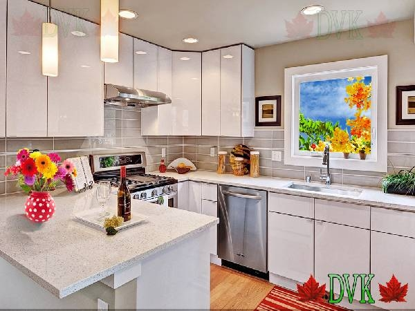 Kitchen Cabinets Vancouver | 30-Maple Shaker - DVK Discount Price ...